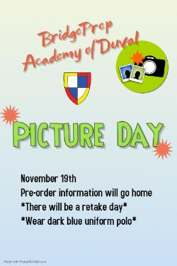 Picture Day - November 19th
