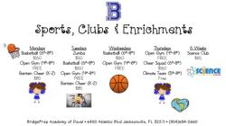 Sports, Clubs and Enrichment Offerings
